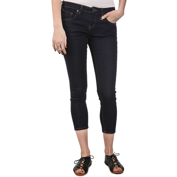 Volcom - Hot Crop Denim Skinny Jeans - Women's
