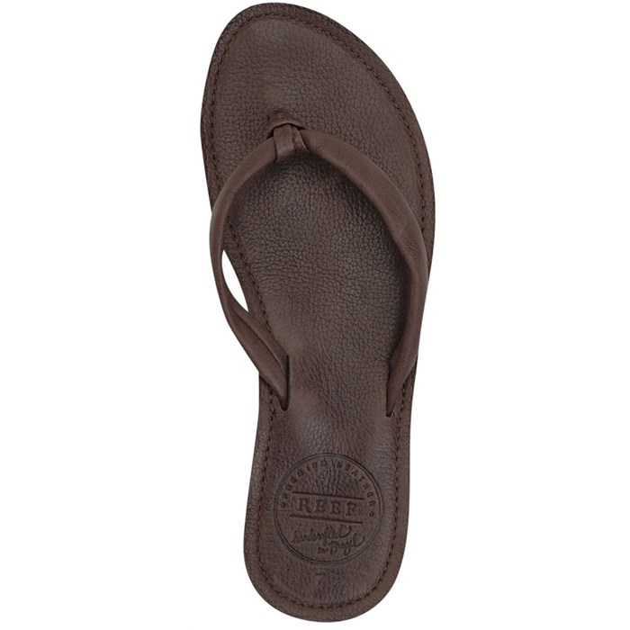 Reef - Creamy Leather Sandals - Women's