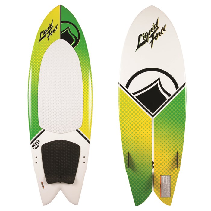 Liquid Force - Fish Wakesurf Board w/ Handle 2014