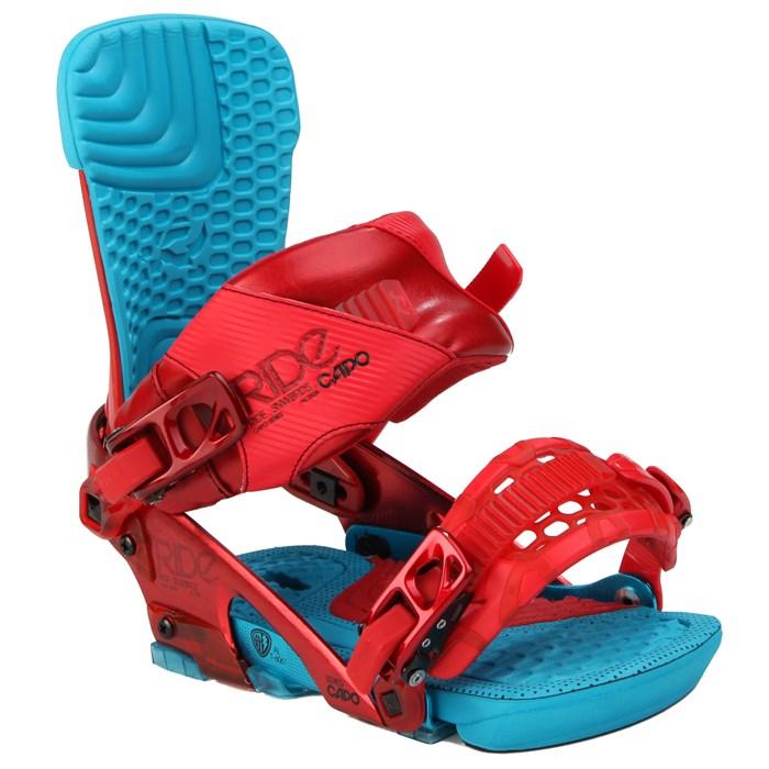 Ride Capo Snowboard Bindings - New Demo 2013 - Used