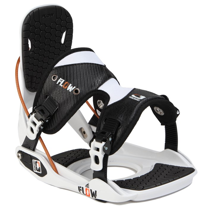 Flow - Quattro Snowboard Bindings - New Demo 2013