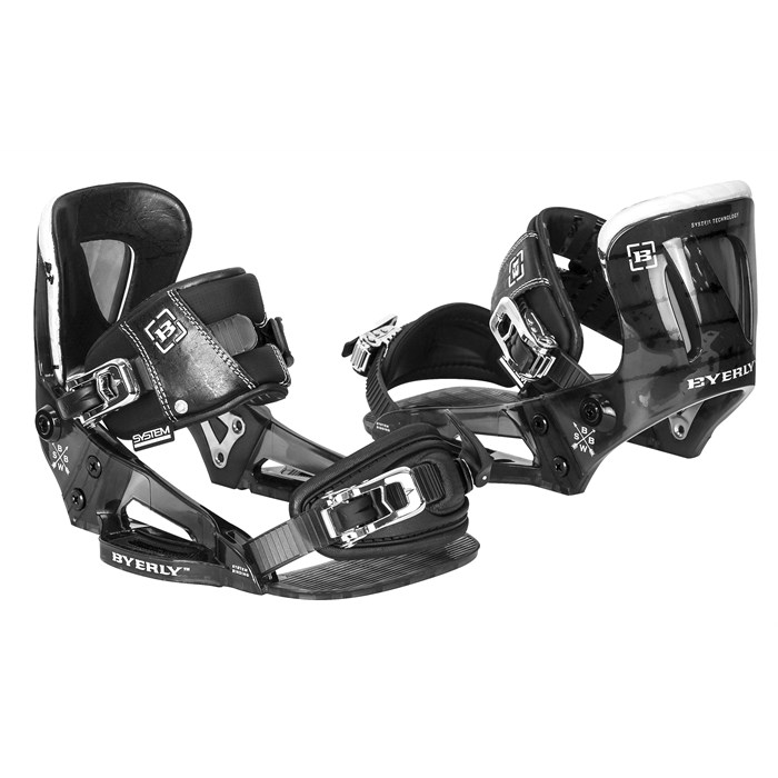 Byerly Wakeboards - System Wakeboard Bindings 2014