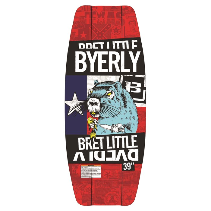 Byerly Wakeboards - Team Little Wakeskate 2014