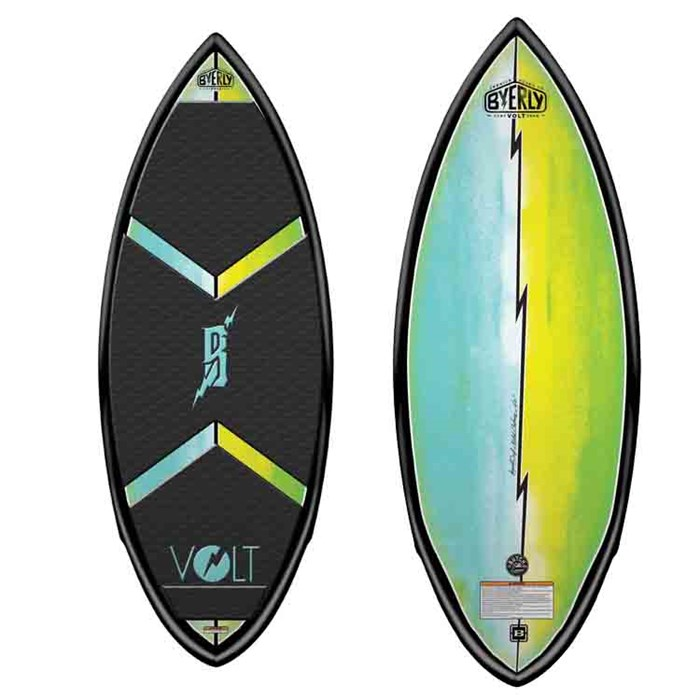 Byerly Wakeboards - Volt Wakesurf Board 2014