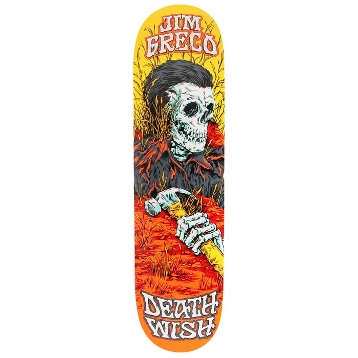 Deathwish - Greco Buried Alive 2 Skateboard Deck