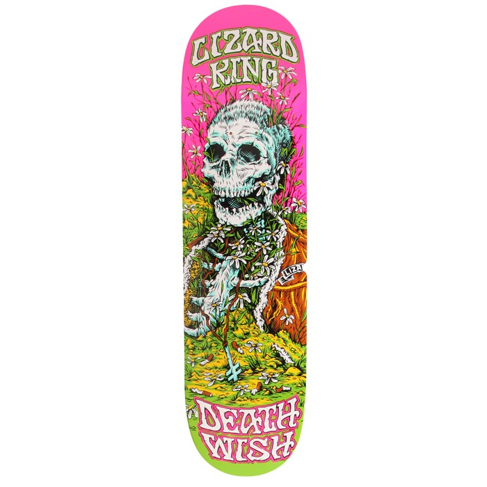 Deathwish - Lizard King Buried Alive 2 8.25 Skateboard Deck