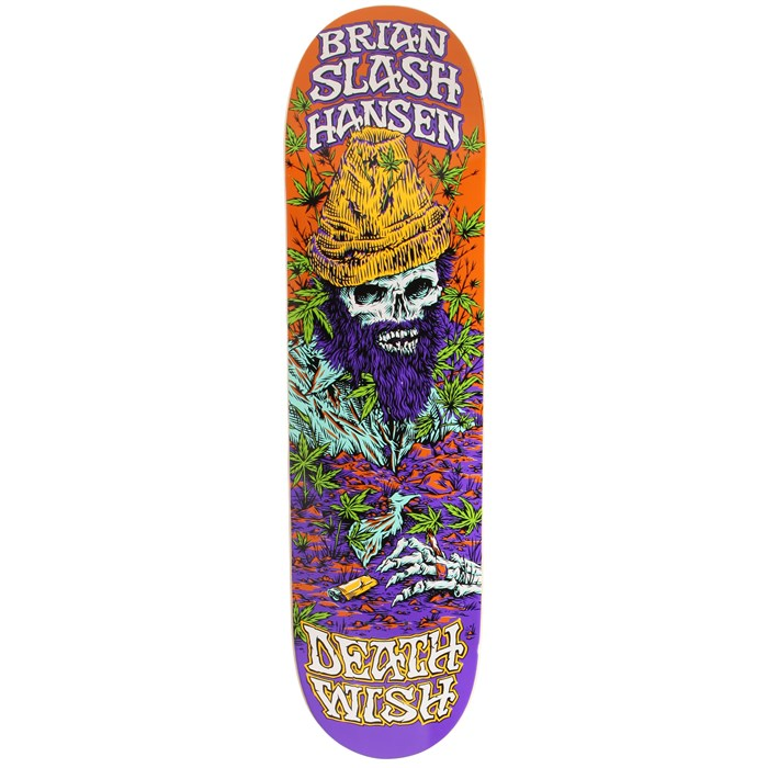 Deathwish - Deathwish Slash Buried Alive 2 8.0 Skateboard Deck