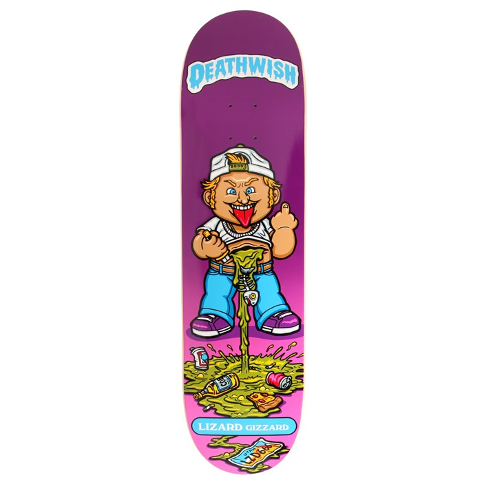 Deathwish - Lizard King Low Life Kids 8.38 Skateboard Deck