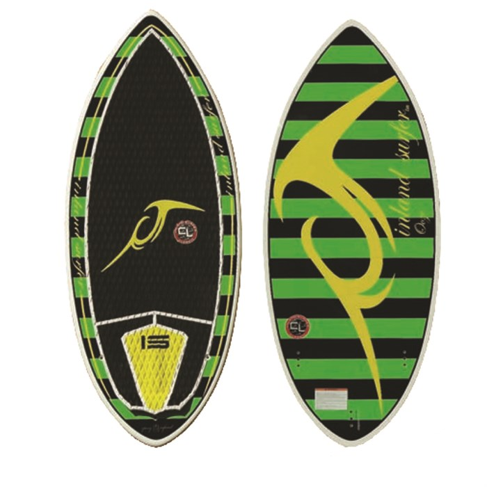 Inland Surfer - 4Skim Ooze Wakesurf Board 2014