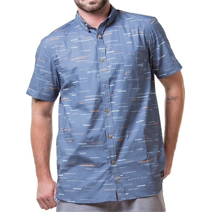 Arbor - Creatures Short-Sleeve Button-Down Shirt