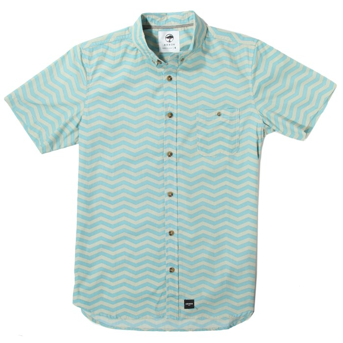 Arbor - Jet Sweep Short-Sleeve Button-Down Shirt