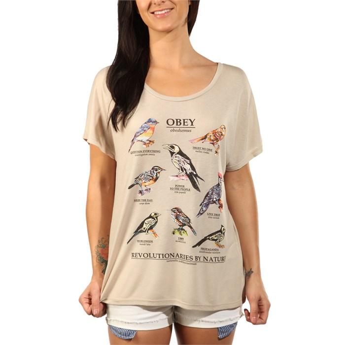 Obey Clothing - Dead Birds T-Shirt - Women's