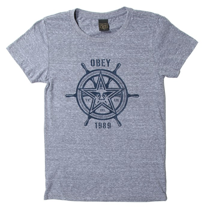 Obey Clothing - Obey Nautical Star T-Shirt - Women's