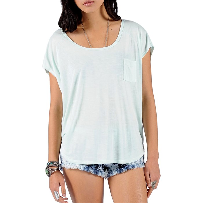 Volcom - Lived In Slub Circle T-Shirt - Women's