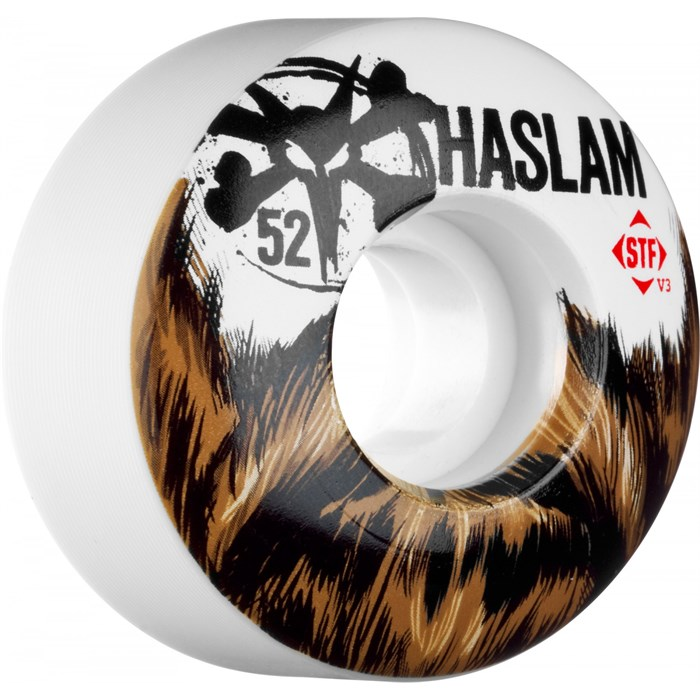 Bones - Haslam Beard STF 83b Skateboard Wheels