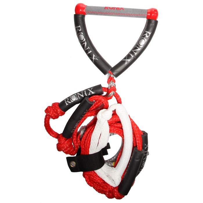 Ronix - 25 ft 4-Section Bungee Surf Rope + 10 Inch Hide Grip Handle 2014
