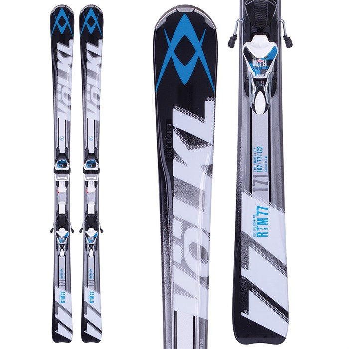 Volkl - RTM 77 Skis + 4Motion 11.0 Bindings 2014