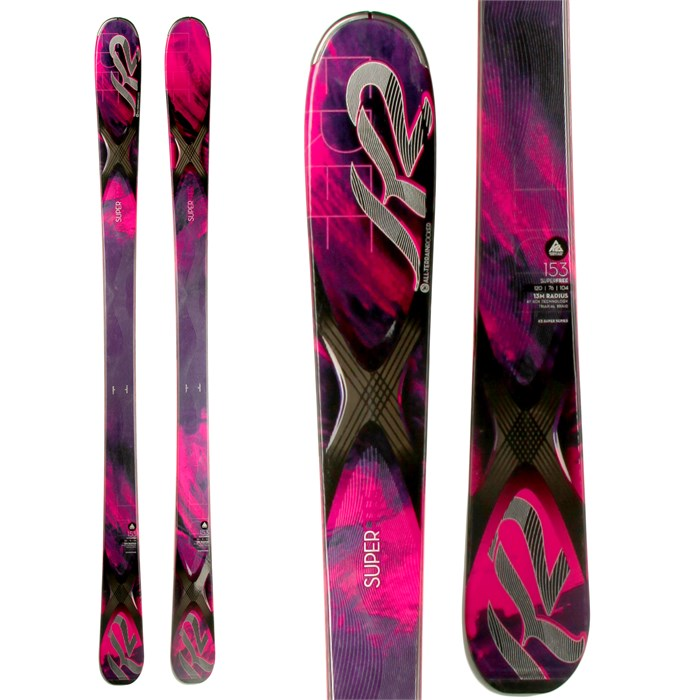K2 - SuperFree Skis - Women's 2014