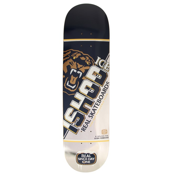Real - Ishod Wair Ice Slick 8.18 Skateboard Deck