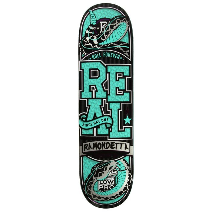 Real - Ramondetta Venom Low Pro 2 8.06 Skateboard Deck