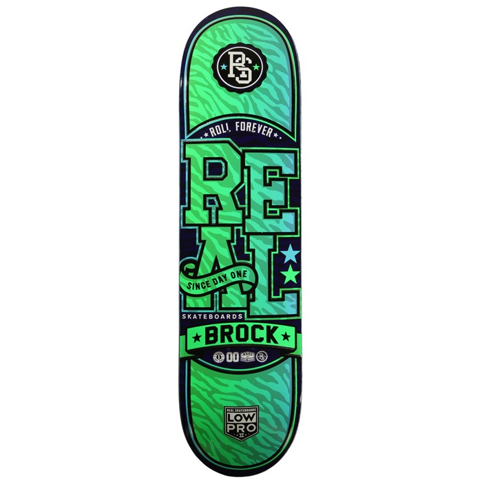 Real - Brock Git Wild! Low Pro 2 8.125 Skateboard Deck