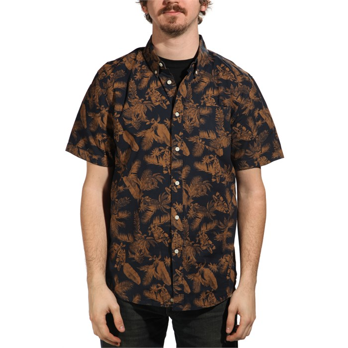 Element - Tropical Thunder Short-Sleeve Button-Down Shirt