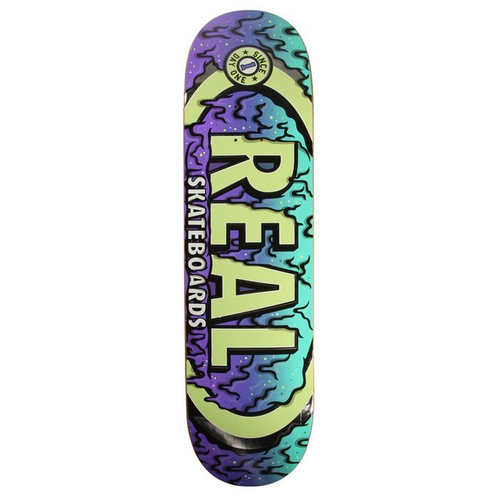 Real - Oval Ooze 8.25 Skateboard Deck
