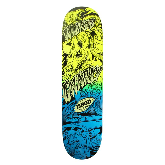 Real - Wair Psycho Awesome 2 Neon 8.06 Skateboard Deck