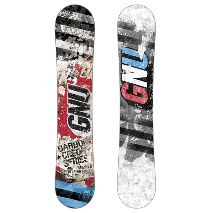 GNU - Carbon Credit Club Collection Snowboard 2014