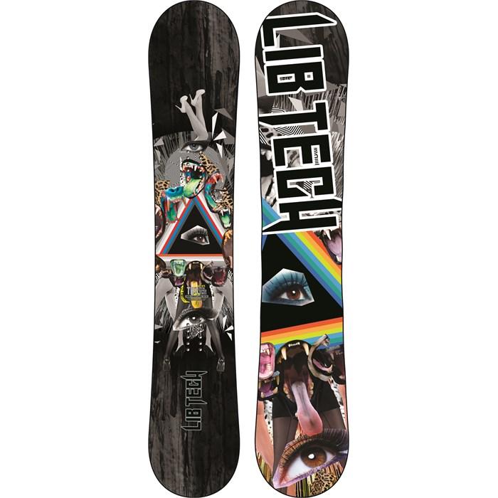 LIB TECH surf skateboard snowboard ski RIPPER T-SHIRT youth MEDIUM BLACK ~NEW~!