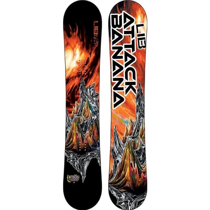Lib Tech Attack Banana Ec2btx Snowboard 2015 Evo
