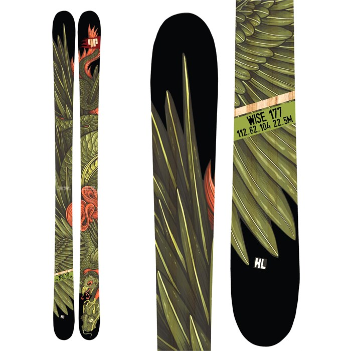4FRNT - 4FRNT Wise Skis - Demo 2014