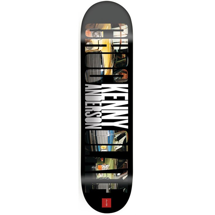 Chocolate - Anderson Big Chocolate 8.125 Skateboard Deck