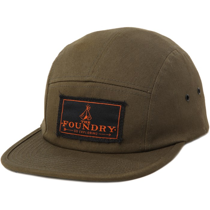 The Foundry Clothing - Go Exploring Camp Hat
