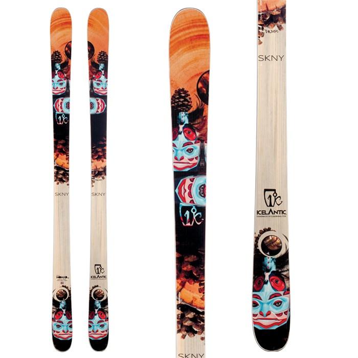 Icelantic - Nomad RKR SKNY Skis 2014
