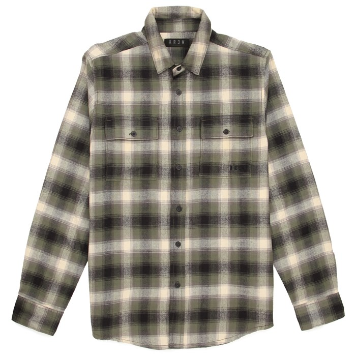 Kr3w - Ambush Long-Sleeve Button-Down Flannel