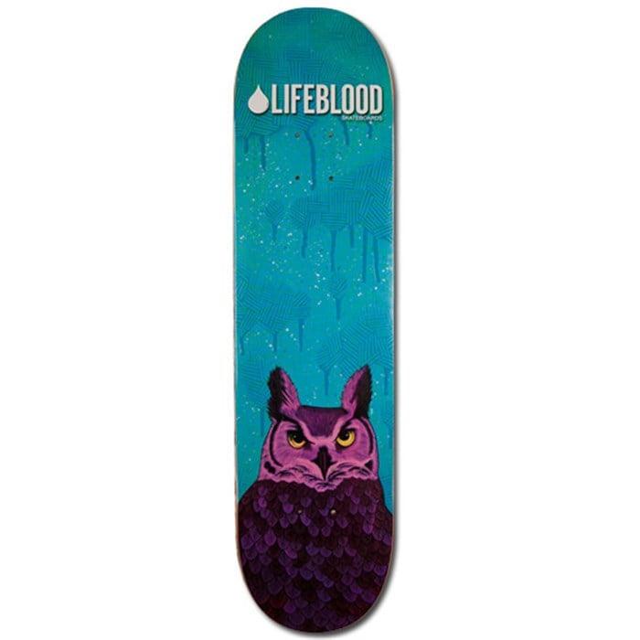 Lifeblood - Feathered Owl Skateboard Deck