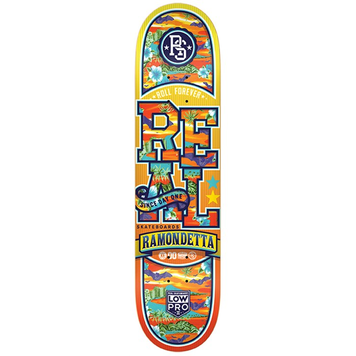 Real - Ramondetta Spring Break Low Pro 2 7.81 Skateboard Deck