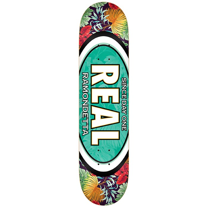 Real - Ramondetta Flower Oval 8.5 Skateboard Deck