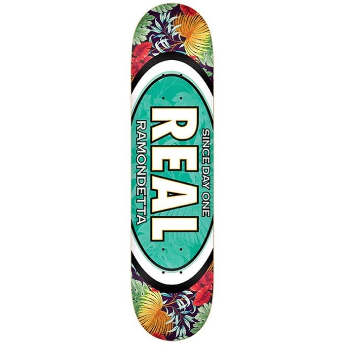 Real - Ramondetta Flower Oval 8.5 Skateboard Deck