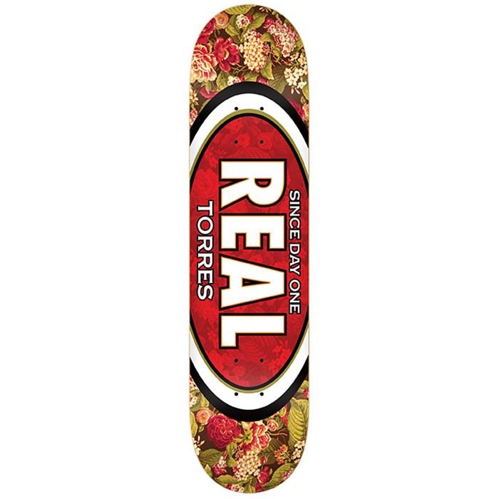 Real - Torres Flower Oval 8.06 Skateboard Deck
