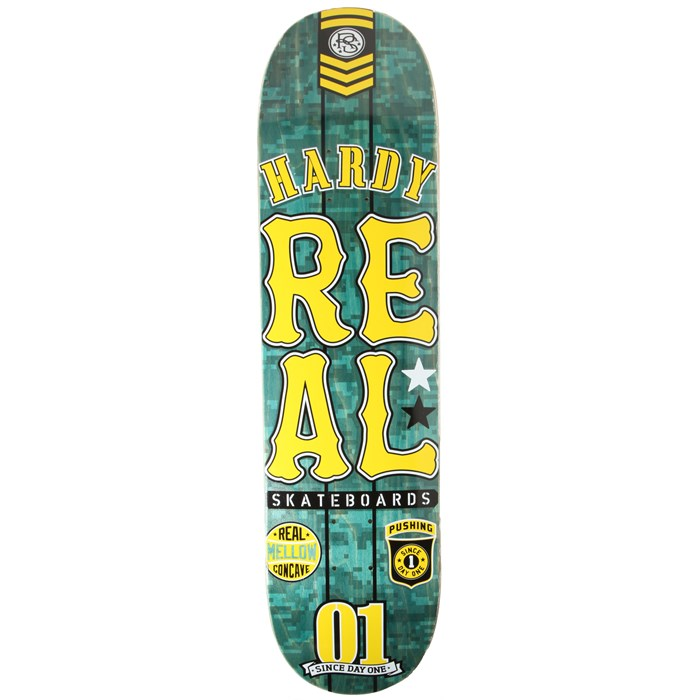 Real - Hardy Urban Ops Mellow 8.02 Skateboard Deck