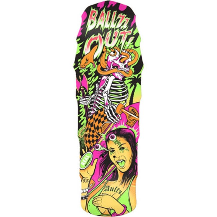 Real - Real Aultz Psycho Awesome 2 Large Skateboard Deck
