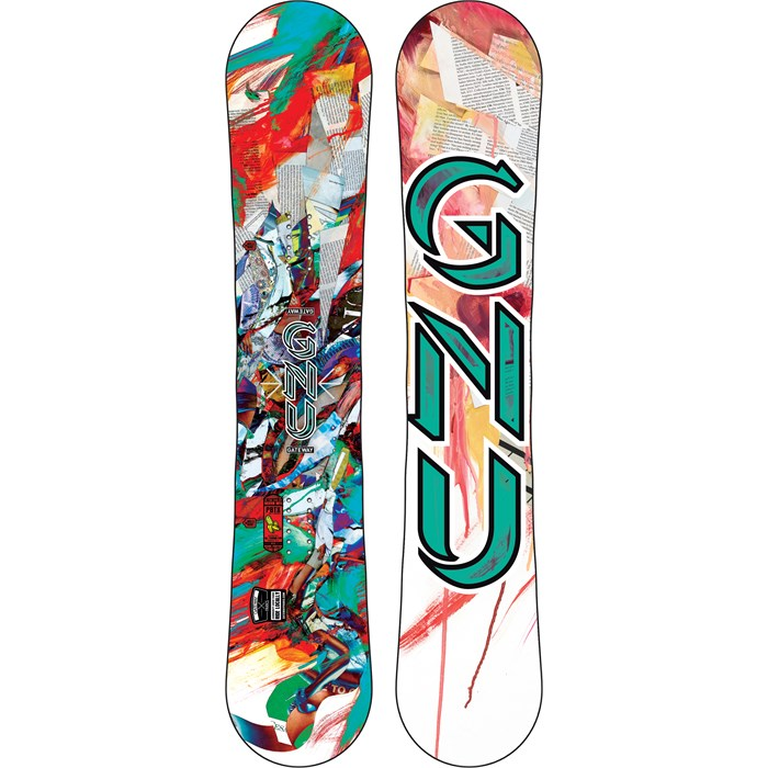GNU - Ladies Gateway PBTX Snowboard - Women's 2015