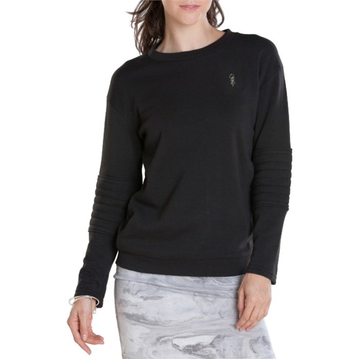 Obey Clothing Lofty Mountain Moto Crew Sweatshirt - Women's | evo
