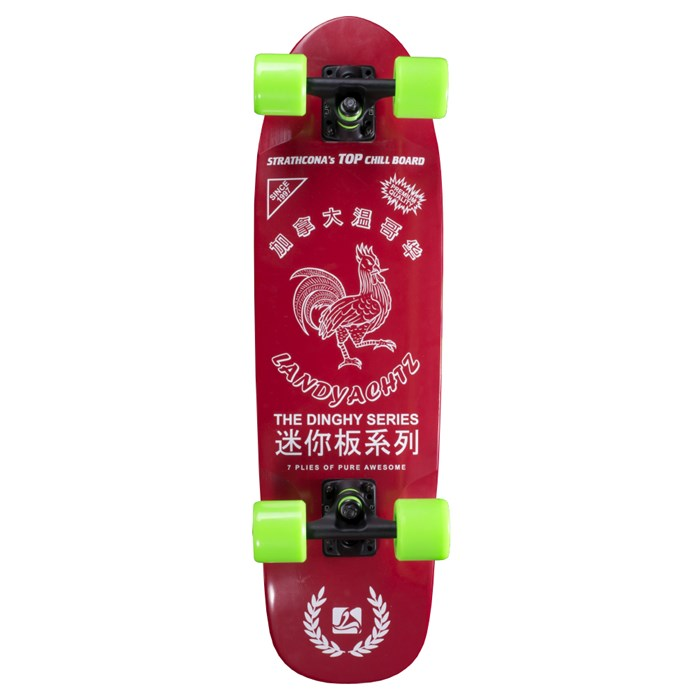Landyachtz - Dinghy Hot Sauce Cruiser Skateboard Complete 2014