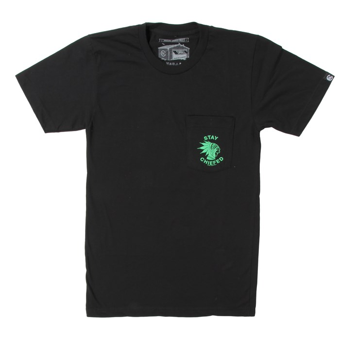 Casual Industrees - Stay Chiefed Pocket T-Shirt