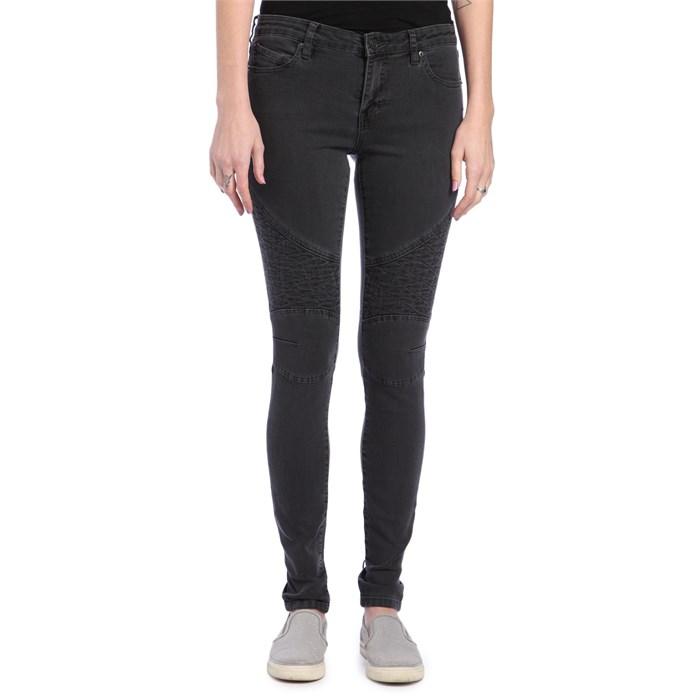 Volcom - Moto Super Stoned Skinny Jeans - Women's