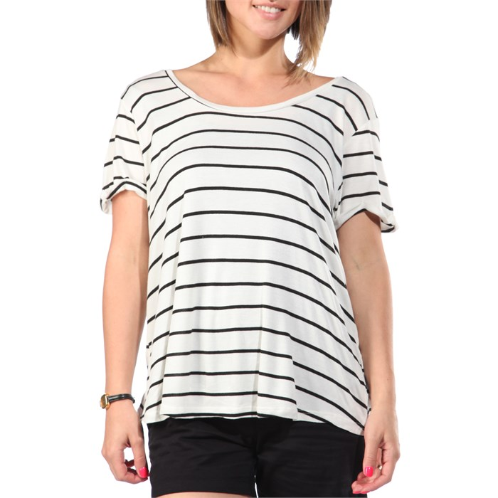 Volcom - Lived In Rib T-Shirt - Women's