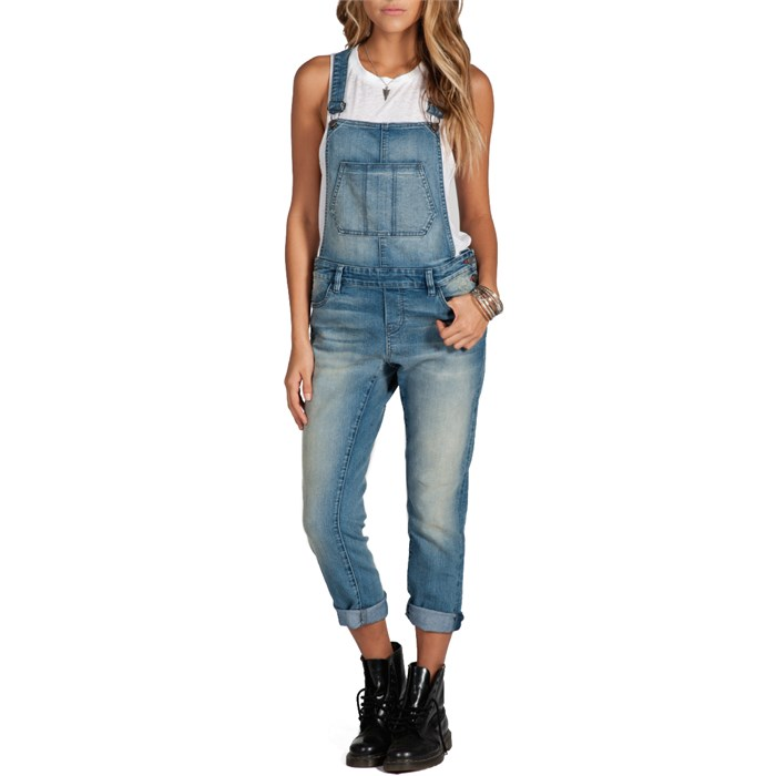 Volcom - Super Stoned Overalls - Women's